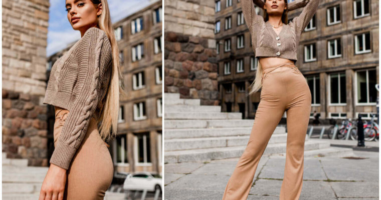 Rozpinane swetry damskie w jesiennych stylizacjach – znajdź swój sposób noszenia